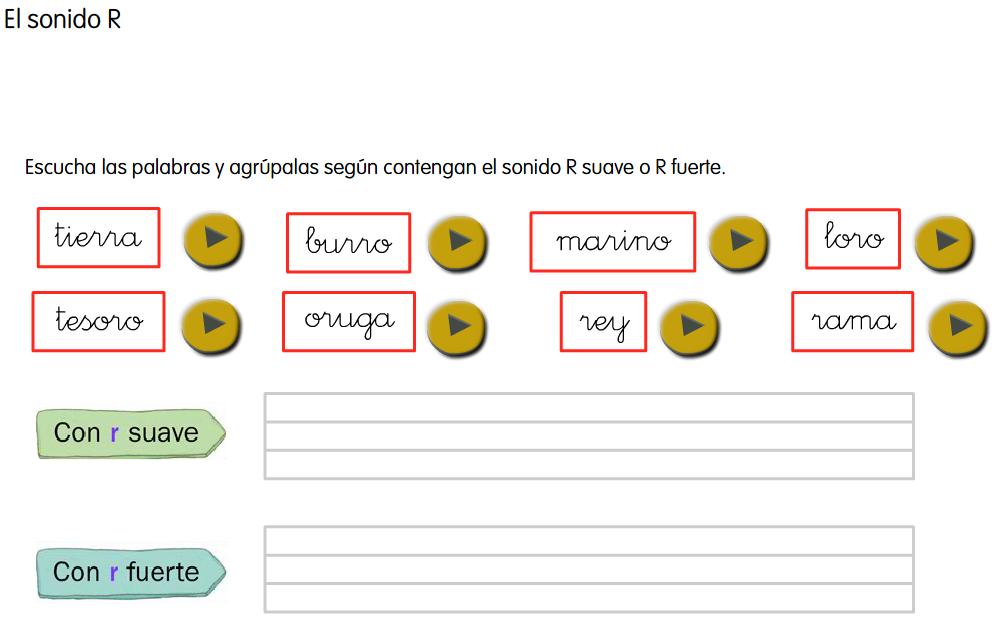 http://www.primerodecarlos.com/SEGUNDO_PRIMARIA/mayo/tema_4_3/actividades/otras/lengua/r_suave_fuerte.swf