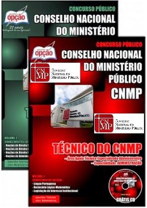 apostila CNMP completa para o Concurso Conselho Nacional do Ministério Público
