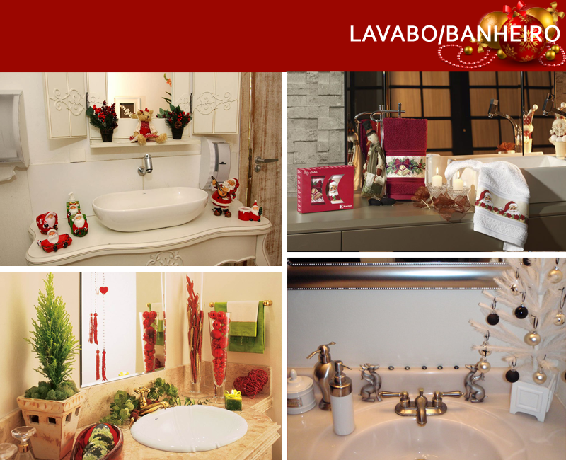 decoracao de lavabo para o natal:de Natal – saiba como decorar cada canto da sua casa para