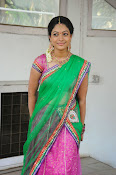 Actress Anjali Rao in Half Saree-thumbnail-20