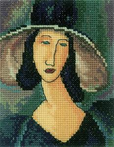 RTO, Портрет женщины в шляпе