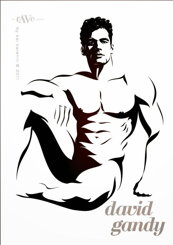 David Gandy by Kai Karenin, The Fave Collection