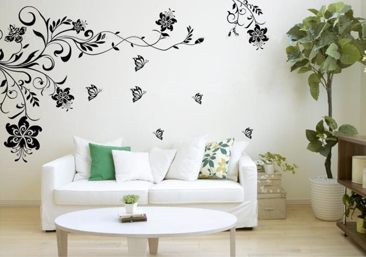 Déco Salon Salle à Manger Peinture et Idée Couleur Salon - Idee Decoration Salon Papier Peint