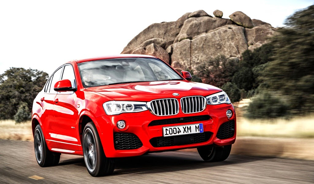 2015 BMW X4 M Sport Package Melbourne Red Metallic