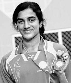 Indian Badminton Player P V Sindhu