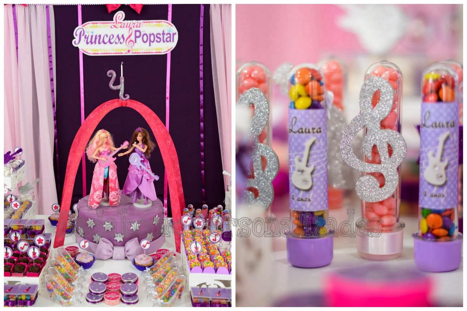 Barbie, barbie pop star, min to be, latinhas, tubete, vidros, convite, rotulos, cones, tags