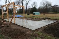 Horse Barn Construction Site