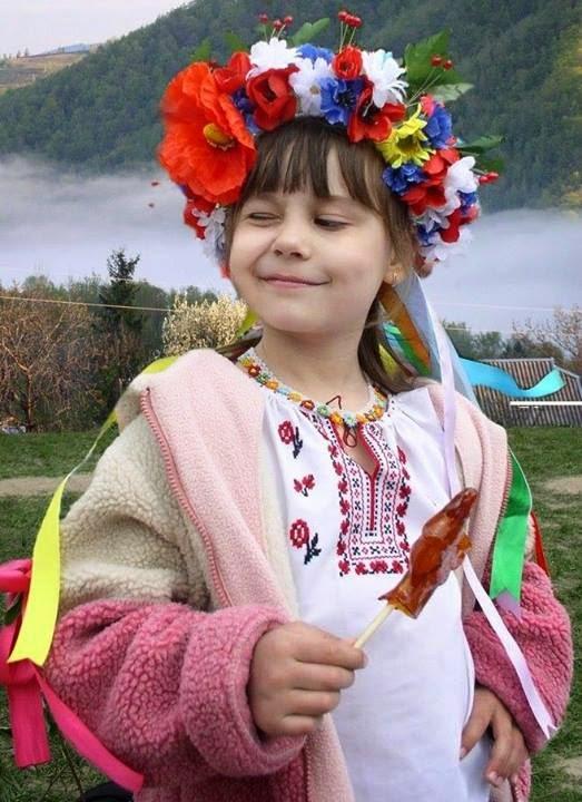 украиночка в веночке