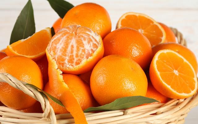 Naranjas imagen de fondo en hd