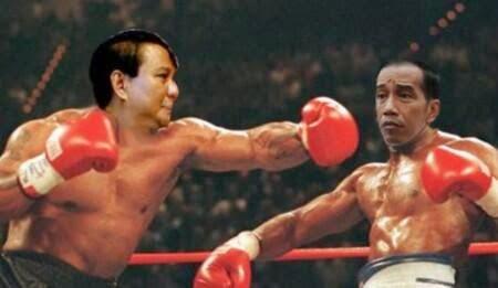 Gambar Humor Capres PRABOWO VS JOKOWI