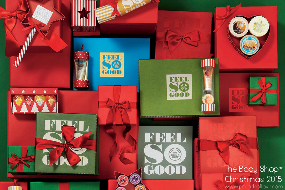 The Body Shop®'s Christmas 2015 Gifts