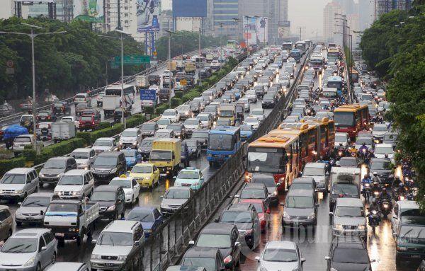kemacetan kota jakarta