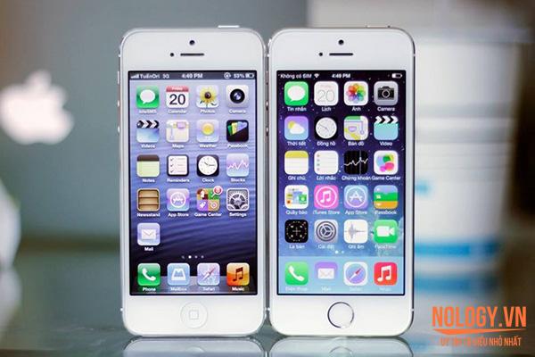 Iphone 5s lock đang chiếm lĩnh thị trường của Iphone 5c lock