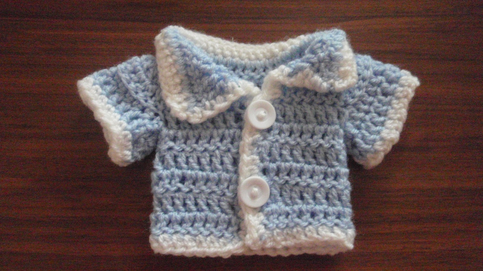 Premature Baby Crochet Cardigan Pattern : Ive Made Friday Week 11 ~ Crochet Addict CFS