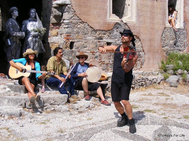 Folk Music, Kayaky Village, Turkey