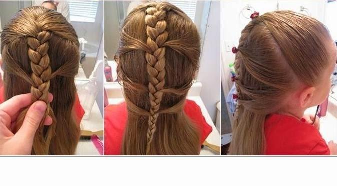 Model Rambut Anak Perempuan Potongan Terbaru