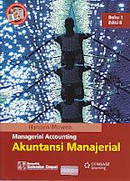toko buku rahma: buku MANAGERIAL ACCOUNTING (AKUNTANSI MANAJERIAL) Buku 1, pengarang hansen, penerbit salemba empat