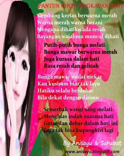 PUISI CINTA BY ANISAYU: Pantun Cinta Ungkapan Hati ...