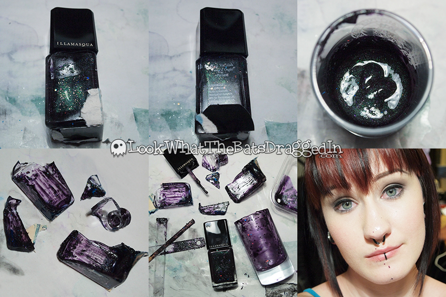 Saving broken nail polish Illamasqua