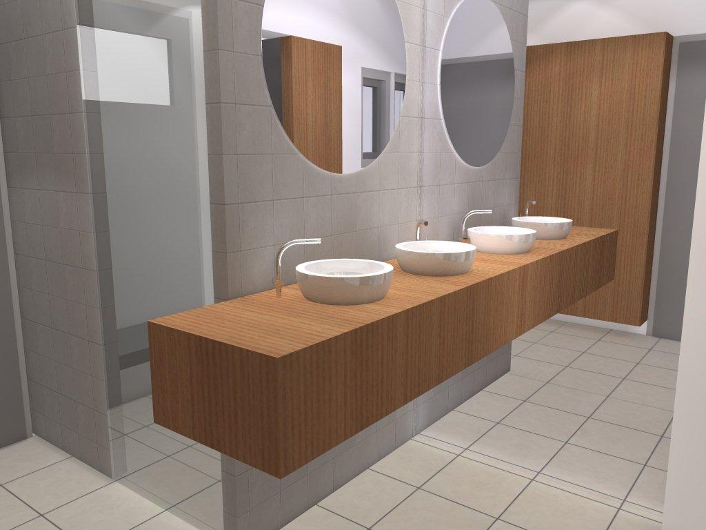 Arnoud Herberts Interieurarchitect: Badkamer en aanpassing woonkamer ...