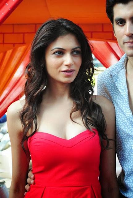 Simran Kaur In Red Dress