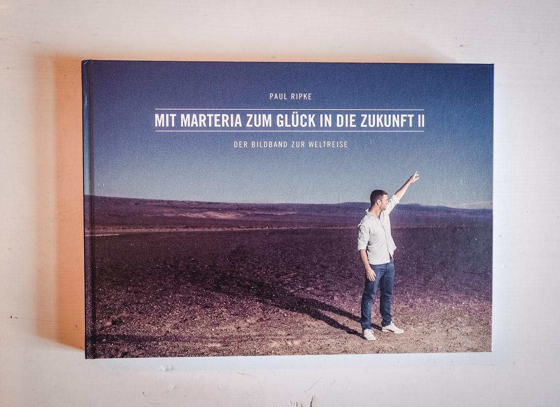 Bildband Cover Paul Ripkes Mit Marteria zum Glück in die Zukunft 2