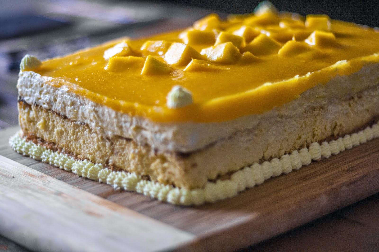 Oxytocin: Gluten-Free Mango Mousse Cheesecake
