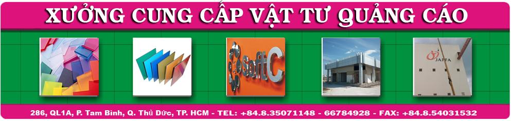 Bán vật tư quảng cáo | tấm nhôm aluminium | tấm nhựa MICA giá rẻ