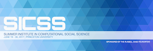 Join me at the 2017 Summer Institute in Computational Social Science!