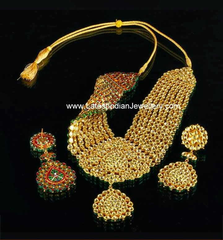 Reversible Kundan Meenakari Necklace