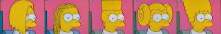 Lisa w różnych fryzurach