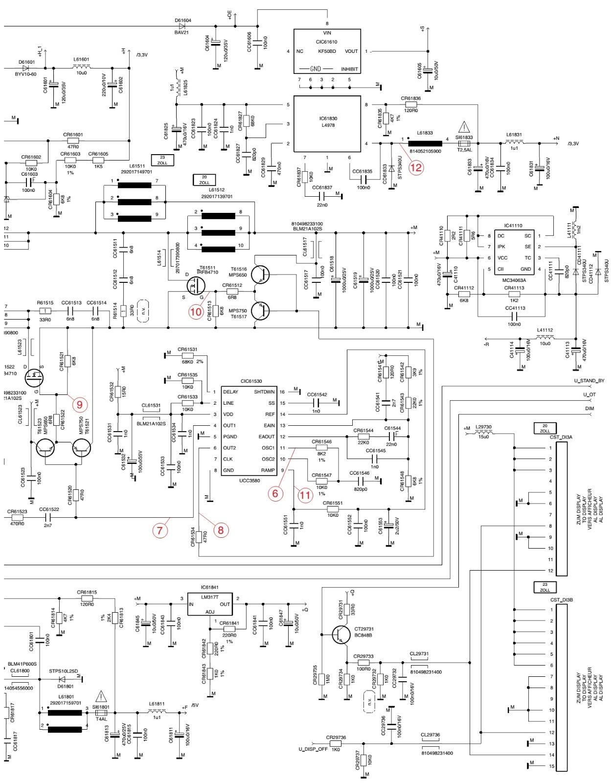 Fantastic Smps Pinout Crest - The Best Electrical Circuit Diagram ...
