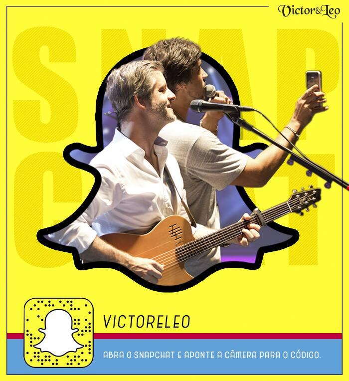 Victor & Leo no Snapchat