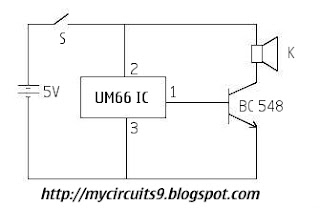 simple door alarm circuit my circuits 9 rh mycircuits9 com simple door alarm circuit diagram door open alarm circuit diagram