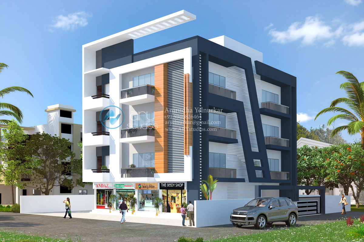 Ary studios 3d architectural rendering walkthroughs for 3d apartments