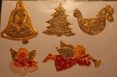 Üvegmatricák Karácsonyra