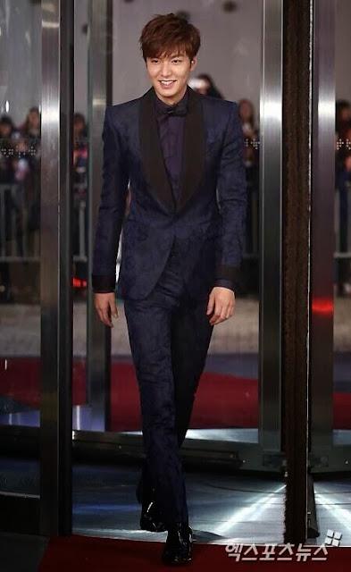 Lee Min Ho at SBS Drama Awards 2013