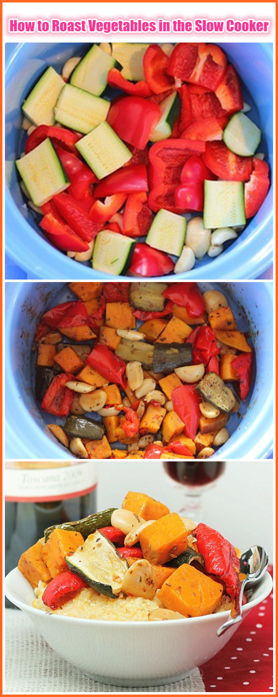 How to Roast Vegetables in the Slow Cooker