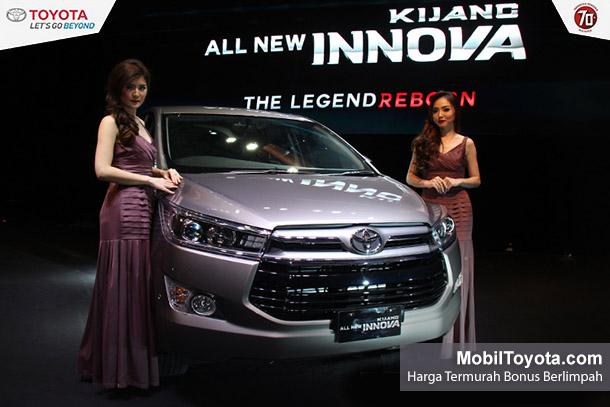Harga Mobil Toyota Kijang Innova Tipe G V Q Manual Matic Bensin Diesel Baru Tahun 2015 | Jakarta, Tangerang, Bekasi, Depok, Bogor, Cikarang, Serang