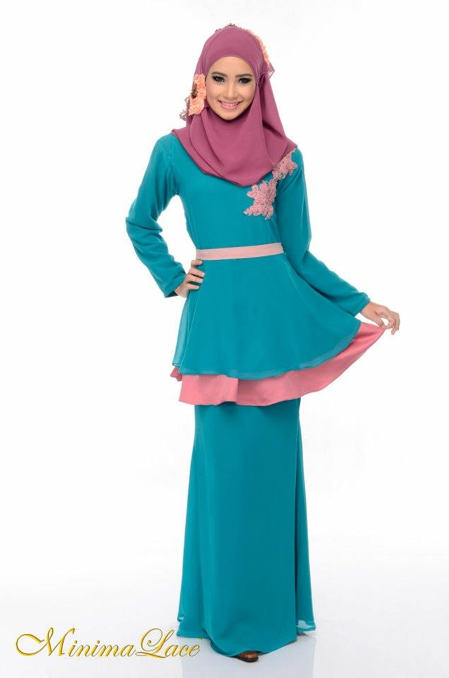 Baju kurung peplum dari MinimaLace Boutique | ! Love Is Cinta ...