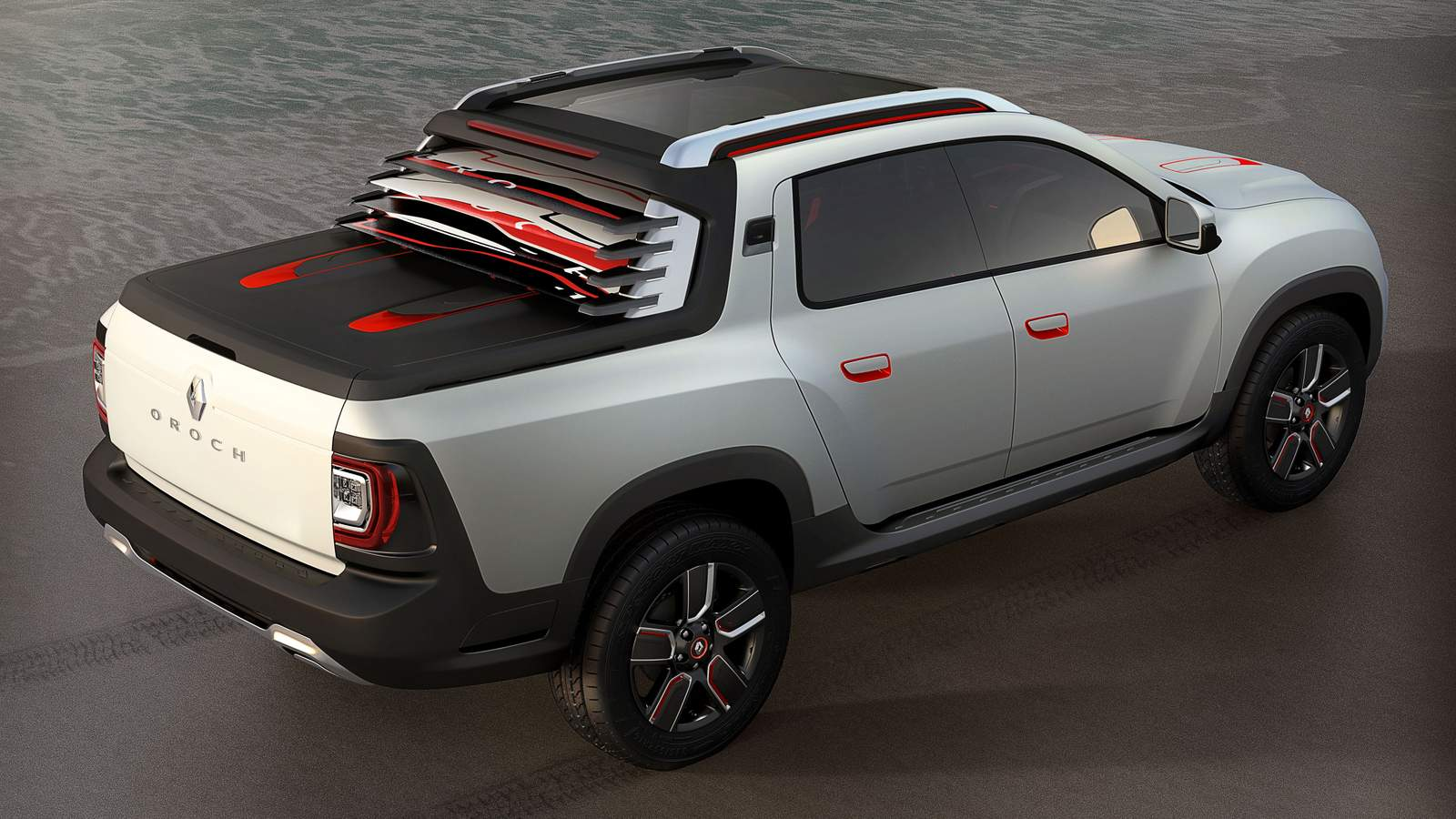 renault duster oroch pick up apresentada como conceito car blog br carros. Black Bedroom Furniture Sets. Home Design Ideas