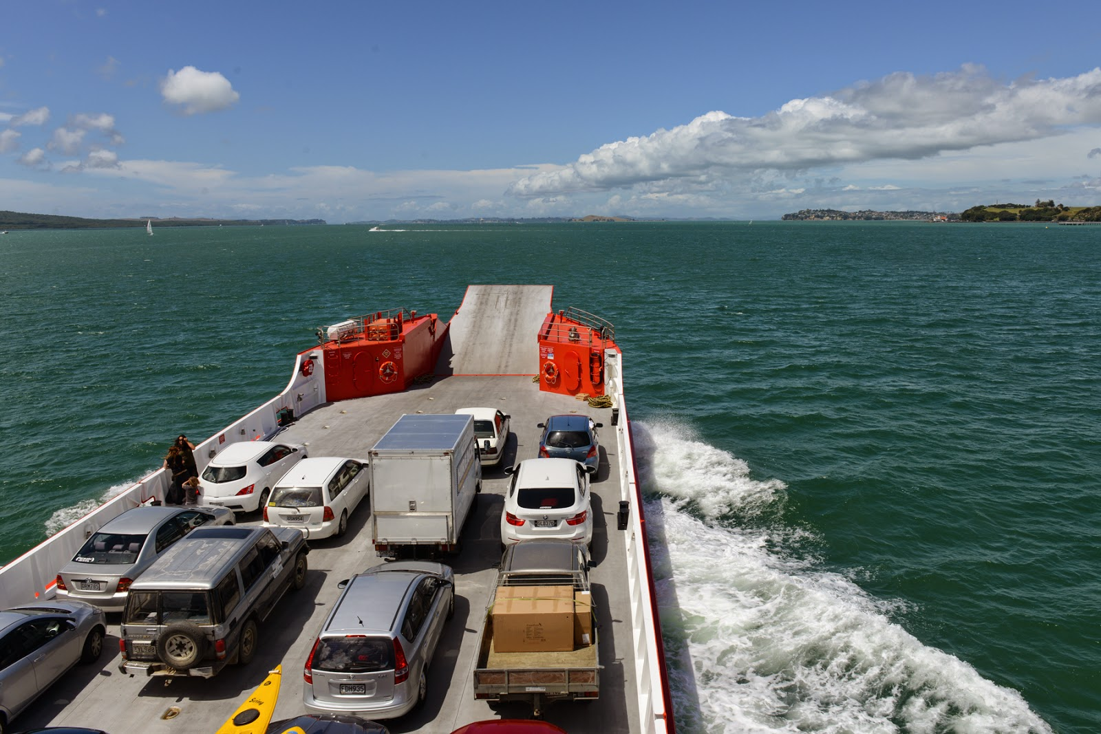 car ferry travel New Zealand
