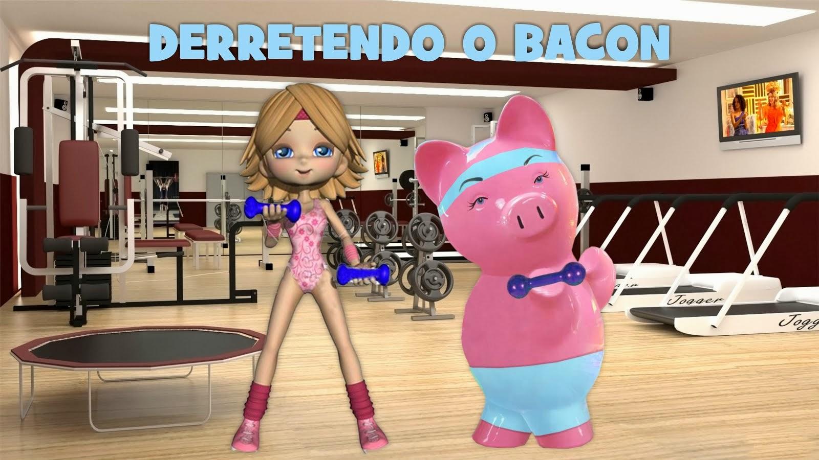 Derretendo o bacon