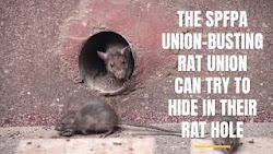SPFPA Union-Busting Rats Exposed