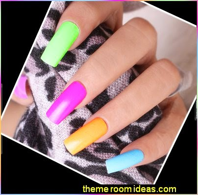 Colorful Nails Rainbow Nails Nail Design Ideas