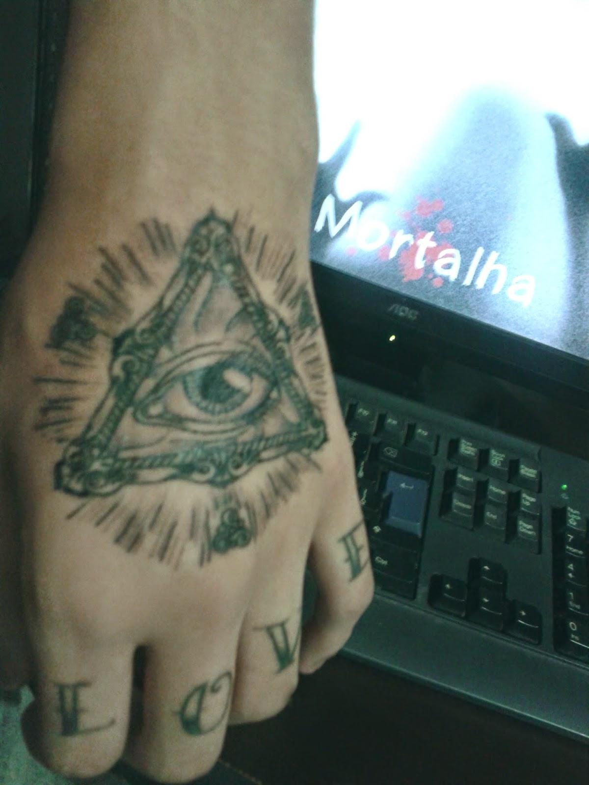 tatuagem, olho que tudo vê