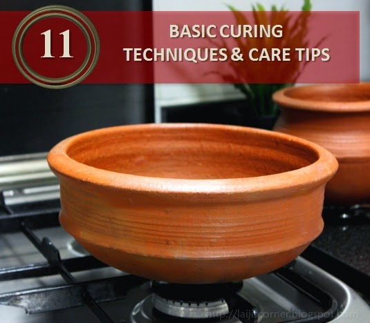 BASIC CURING TECHNIQUES & CARE TIPS OF POTS