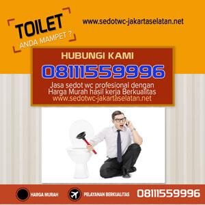 Layanan Sedot Wc Yang Handal Di Jakarta Selatan