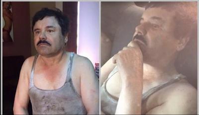 """El Chapo"""" Guzmán fue recapturado"""