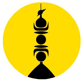 Totem de sable  Kanak_embleme